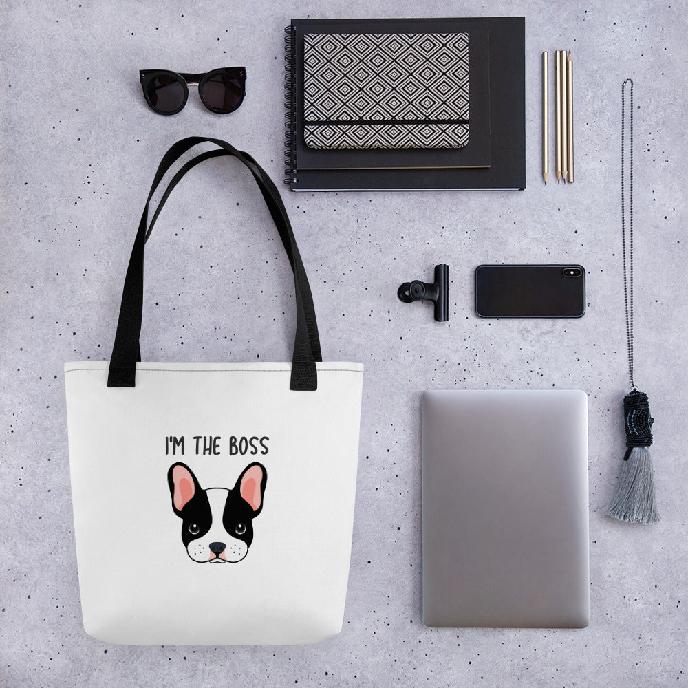 I'm the Boss Tote Bag
