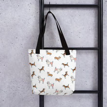 Load image into Gallery viewer, Dogs Tote Shoulder Bag