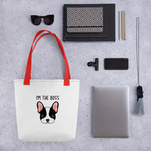 Load image into Gallery viewer, I'm the Boss Tote bag