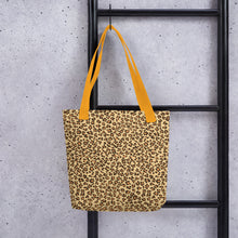 Load image into Gallery viewer, Leopard Brown All-Over Print Tote Bag