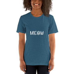 MEOW Short-Sleeve Unisex T-Shirt