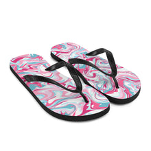 Load image into Gallery viewer, Pink Dream Flip-Flops