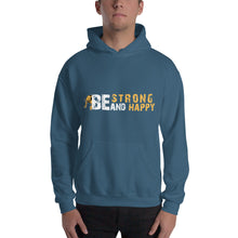 Load image into Gallery viewer, Be Strong and Happy Unisex Elephant and Hooded Sweatshirt