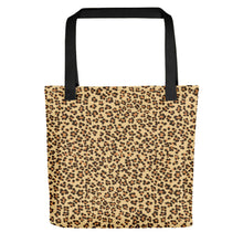 Load image into Gallery viewer, Leopard Brown Tote Bag
