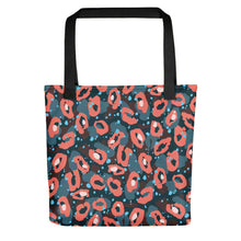 Load image into Gallery viewer, Leopard Pattern All-Over Print Tote Bag