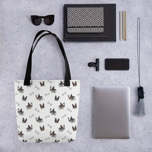 French Bulldog Pug Tote Bag