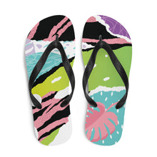 Load image into Gallery viewer, Pink Nature Flip-Flops