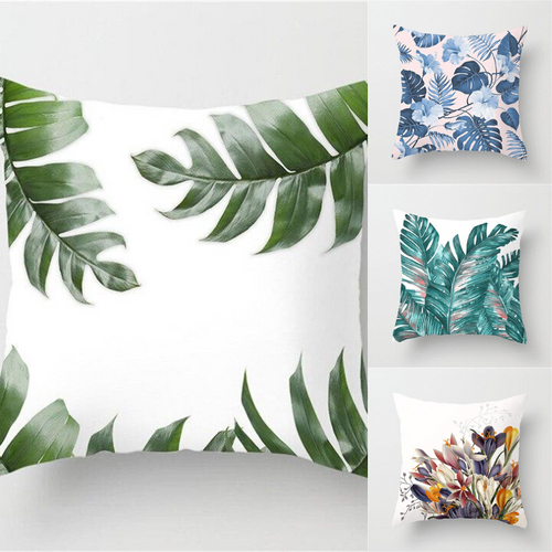 Nature Leaves Pillow Case Cushion Cover