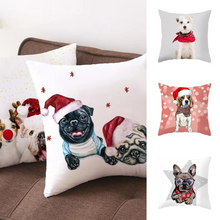 Load image into Gallery viewer, Dog Pug Pillow Cover Case