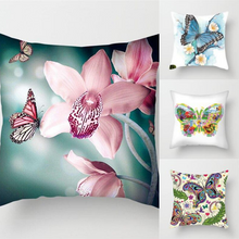 Load image into Gallery viewer, Beautiful Butterfly Pillow Cover Cases