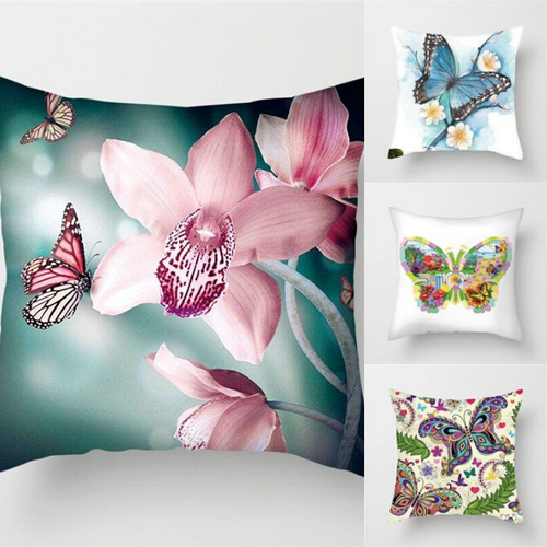 Beautiful Butterfly Pillow Cover Cases