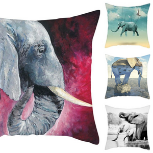 Joymere Cute Elephant Pillow Covers Case