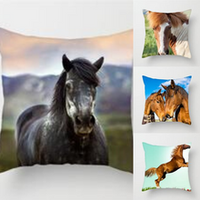 Load image into Gallery viewer, Horse Pillow Cover Cases