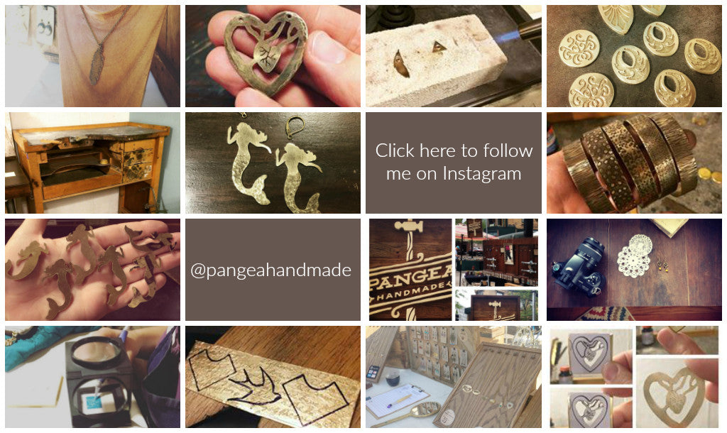 Follow Pangea Handmade on Instagram! @pangeahandmade