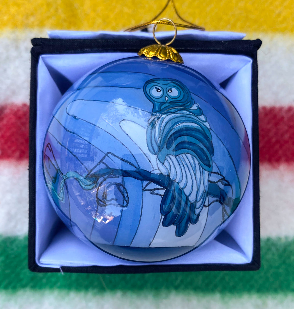 Grey Ghost Ornament
