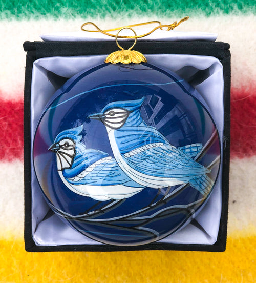 Jay Birds Ornament