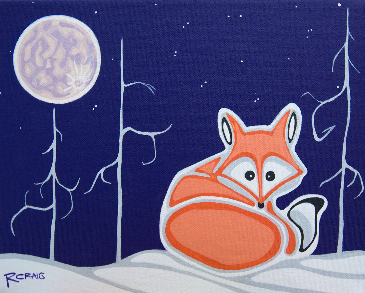 Little Vixen and the Big Moon