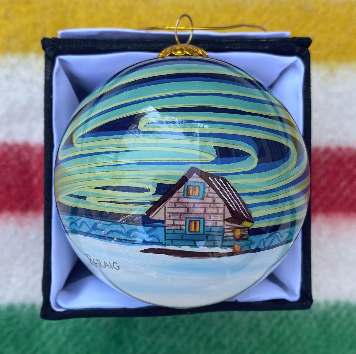 The Houseboat Ornament