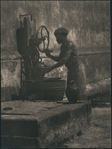 A Water Carrier - Cuba by Horace Latimer
