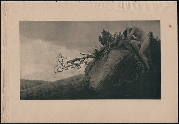 Finis by Anne Brigman