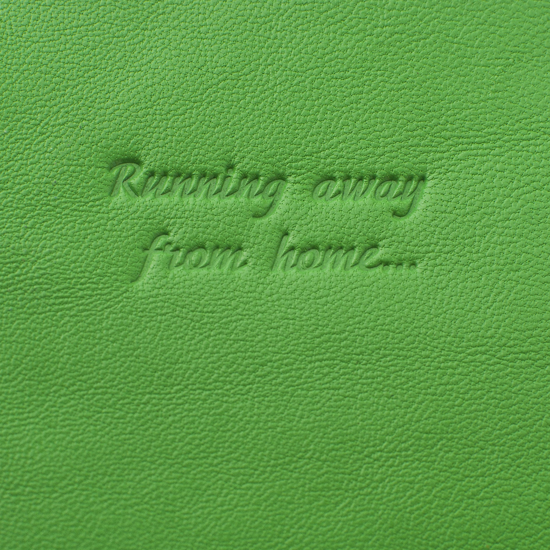 Classic Passport Cover ~ Shamrock Green Genuine Leather
