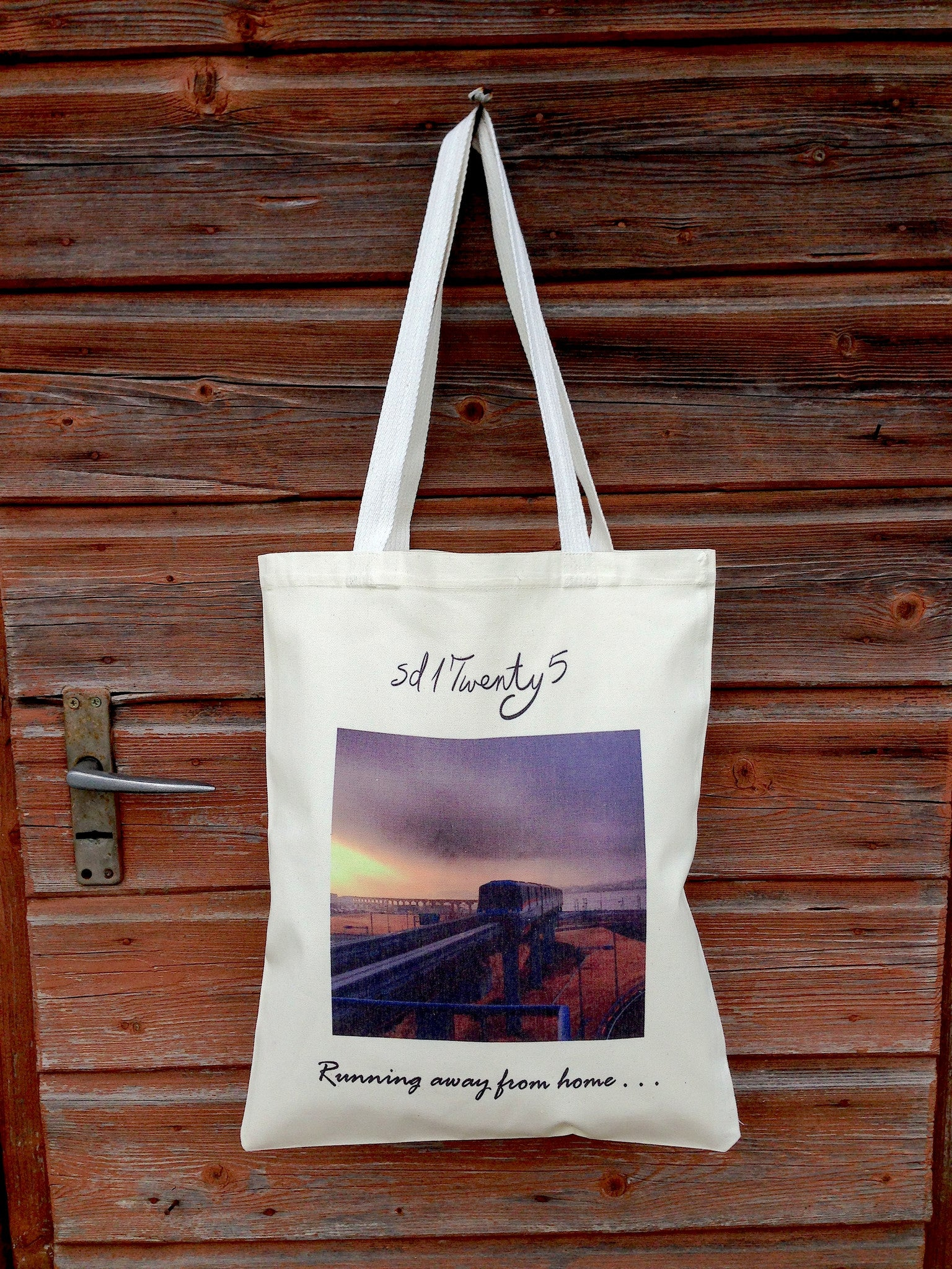 """Destination Asia"" Canvas Tote First Sunrise in Japan"