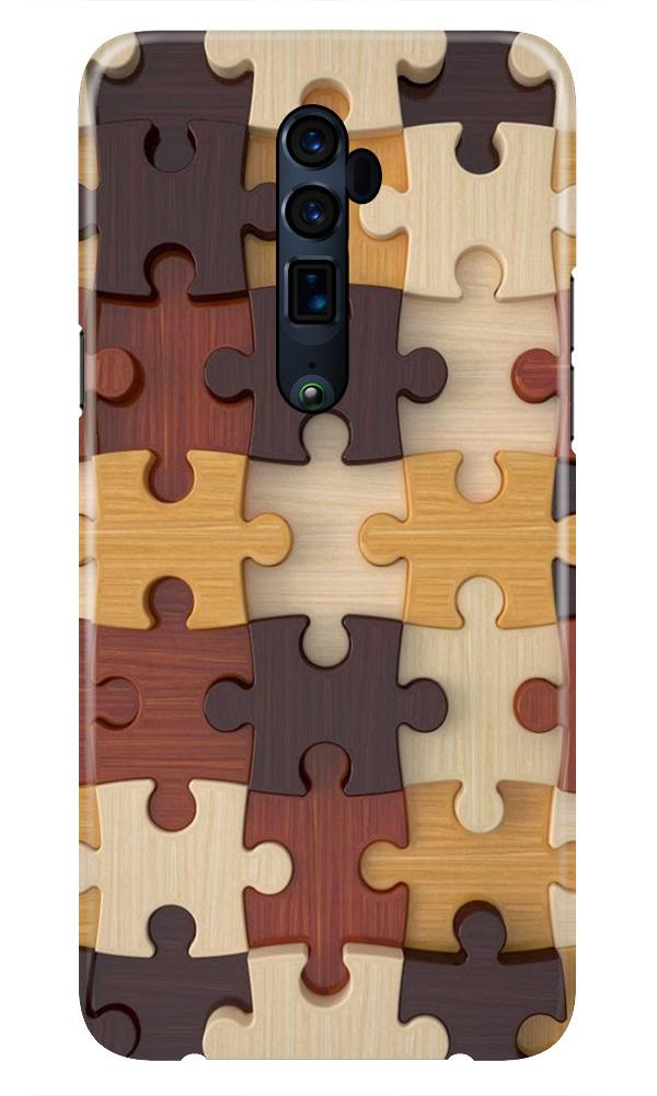 Puzzle Pattern Case for Oppo Reno 10X Zoom (Design No. 217)