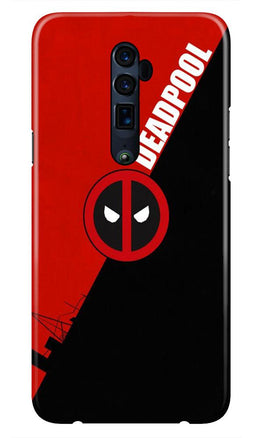 Deadpool Case for Oppo Reno 10X Zoom (Design No. 248)