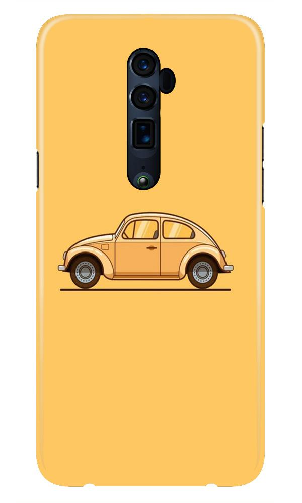 Vintage Car Case for Oppo Reno 10X Zoom (Design No. 262)