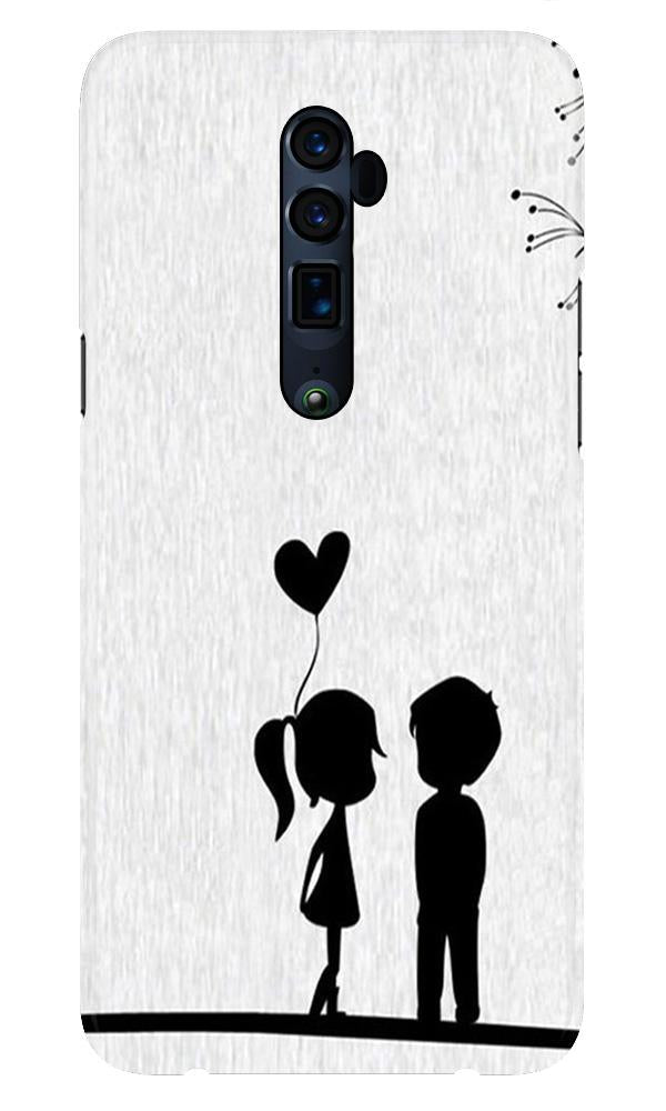 Cute Kid Couple Case for Oppo Reno 10X Zoom (Design No. 283)