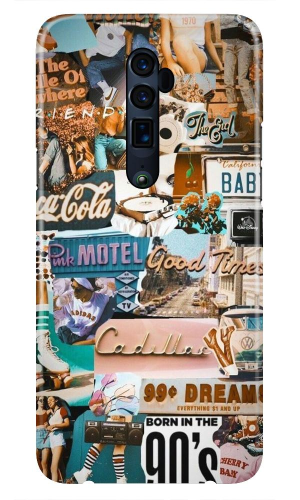 Vintage Design Case for Oppo Reno 10X Zoom (Design No. 284)