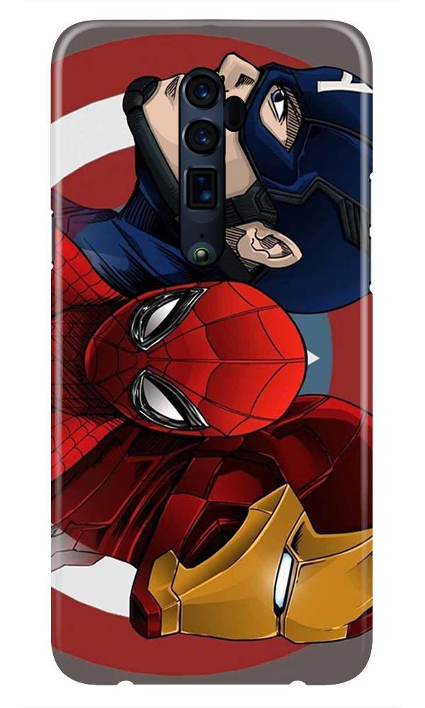 Superhero Mobile Back Case for Oppo Reno 10X Zoom  (Design - 311)