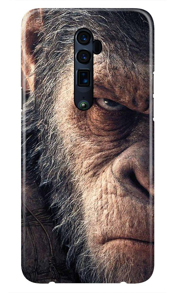 Angry Ape Mobile Back Case for Oppo Reno 10X Zoom  (Design - 316)