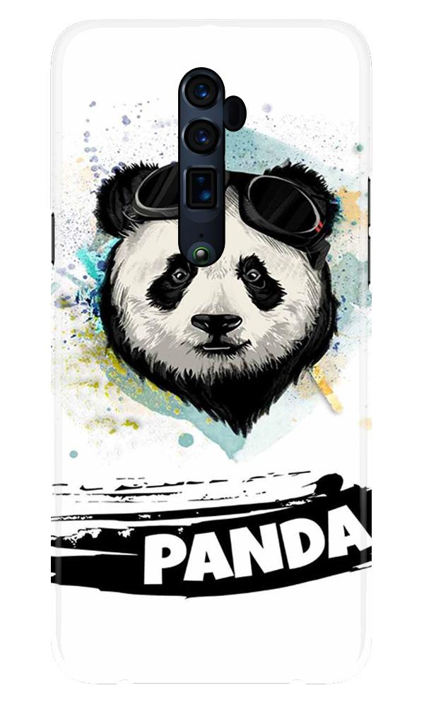 Panda Mobile Back Case for Oppo Reno 10X Zoom  (Design - 319)