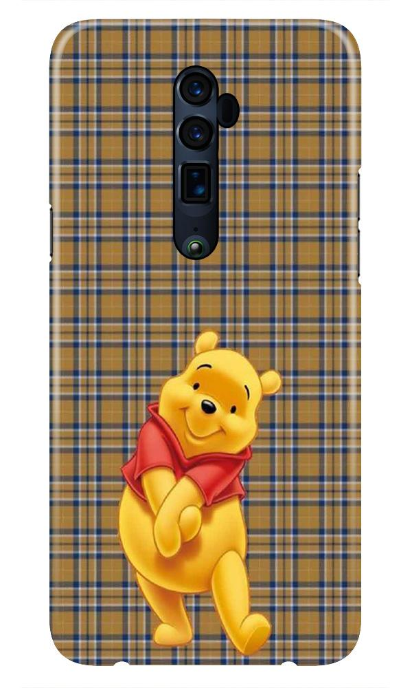 Pooh Mobile Back Case for Oppo Reno 10X Zoom  (Design - 321)