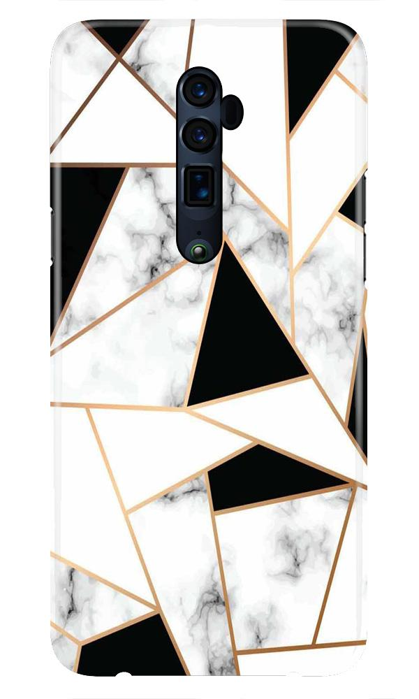 Marble Texture Mobile Back Case for Oppo Reno 10X Zoom  (Design - 322)