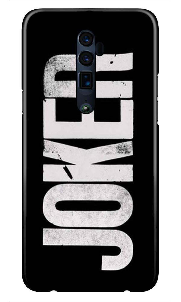 Joker Mobile Back Case for Oppo Reno 10X Zoom  (Design - 327)