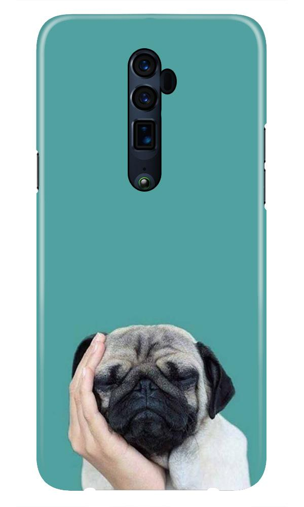Puppy Mobile Back Case for Oppo Reno 10X Zoom  (Design - 333)