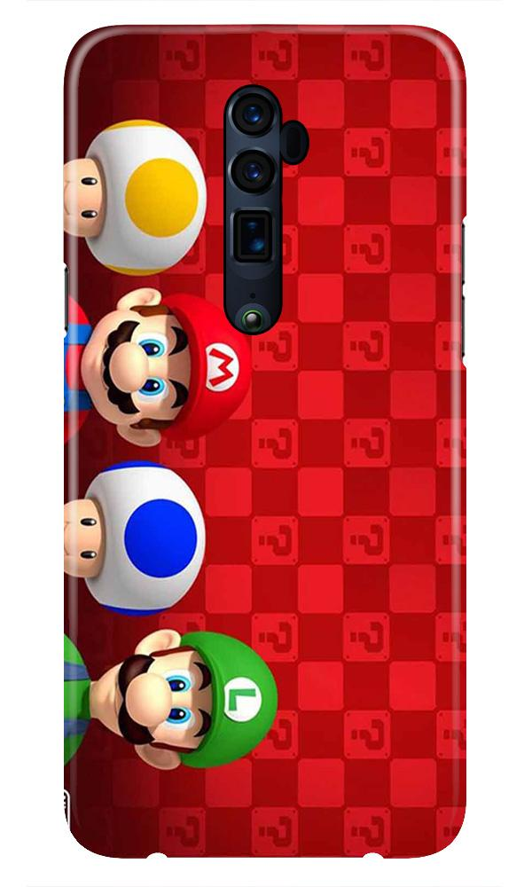 Mario Mobile Back Case for Oppo Reno 10X Zoom  (Design - 337)