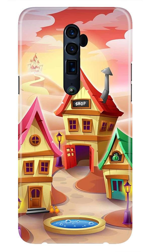 Sweet Home Mobile Back Case for Oppo Reno 10X Zoom  (Design - 338)