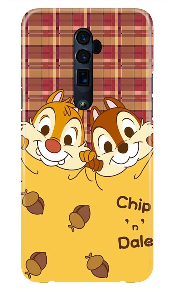 Chip n Dale Mobile Back Case for Oppo Reno 10X Zoom  (Design - 342)