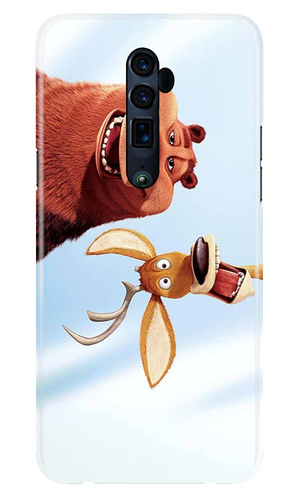 Polar Beer Mobile Back Case for Oppo Reno 10X Zoom  (Design - 344)