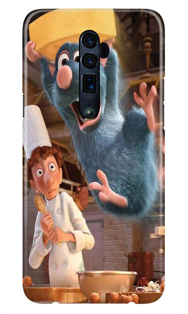 Ratatouille Mobile Back Case for Oppo Reno 10X Zoom  (Design - 347)