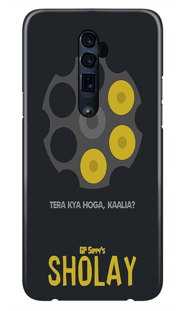 Sholay Mobile Back Case for Oppo Reno 10X Zoom  (Design - 356)