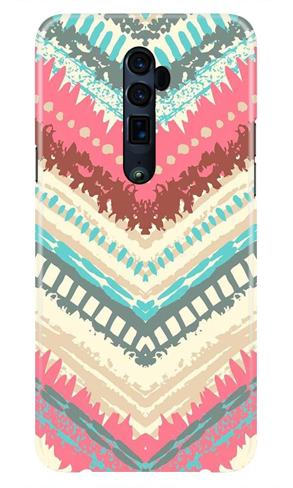 Pattern Mobile Back Case for Oppo Reno 10X Zoom  (Design - 368)