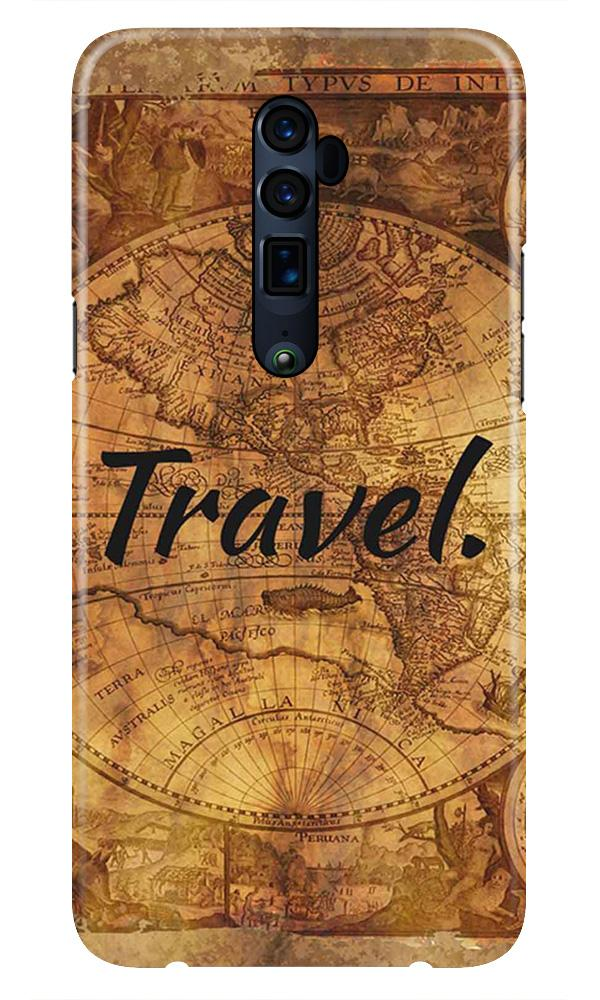 Travel Mobile Back Case for Oppo Reno 10X Zoom  (Design - 375)