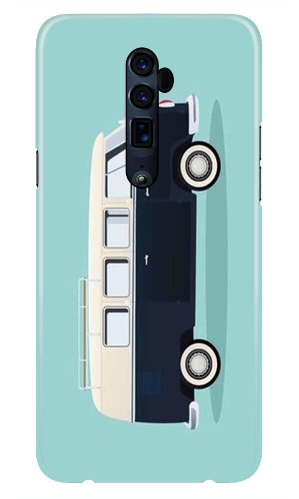 Travel Bus Mobile Back Case for Oppo Reno 10X Zoom  (Design - 379)