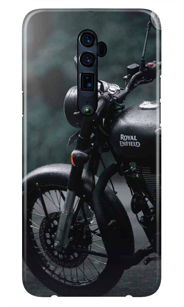 Royal Enfield Mobile Back Case for Oppo Reno 10X Zoom  (Design - 380)