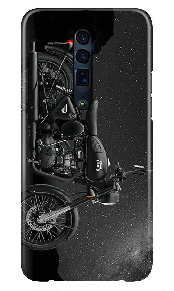 Royal Enfield Mobile Back Case for Oppo Reno 10X Zoom  (Design - 381)