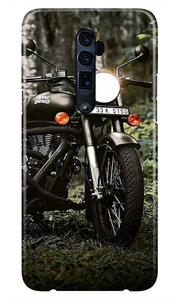Royal Enfield Mobile Back Case for Oppo Reno 10X Zoom  (Design - 384)